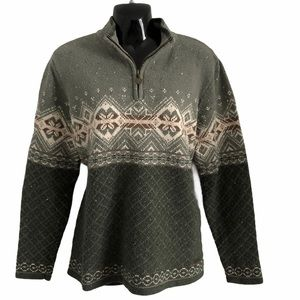 NORTHERN REFLECTION vintage sweater cottage core